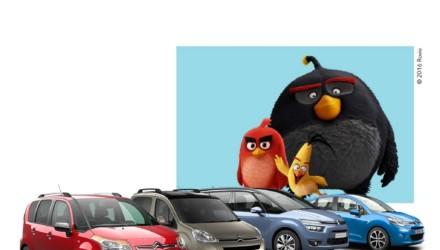 Citroen e Angry Birds