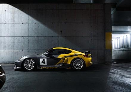 Porsche Cayman GT4 Trophy Italia