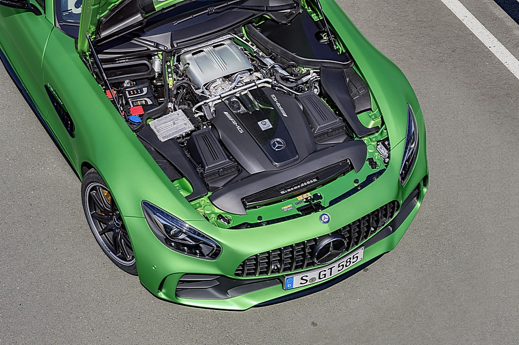 AMG GT R Motore