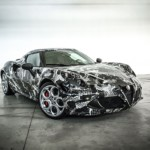 Alfa Romeo 4C Deadly Snake Adidas Garage Italia Customs