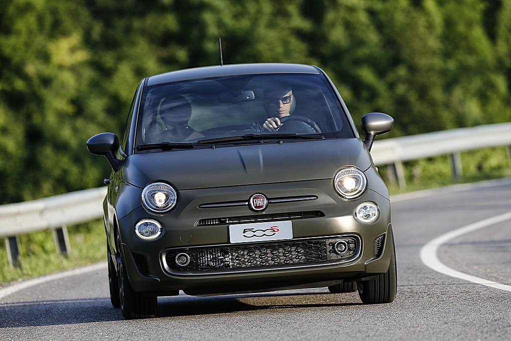 Fiat 500S Davanti
