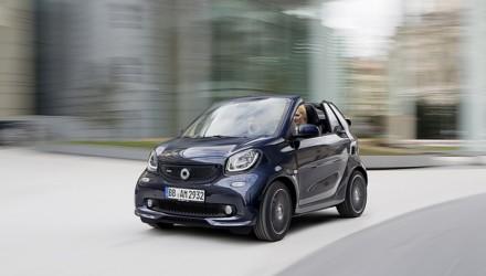 smart BRABUS fortwo cabrio davanti dinamica