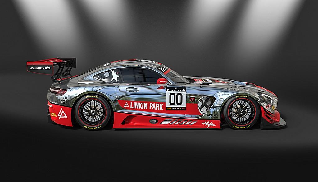 AMG GT3 Linkin Park 2