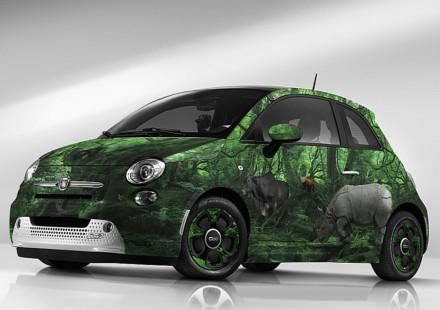 Fiat 500e Wild Garage Italia Customs