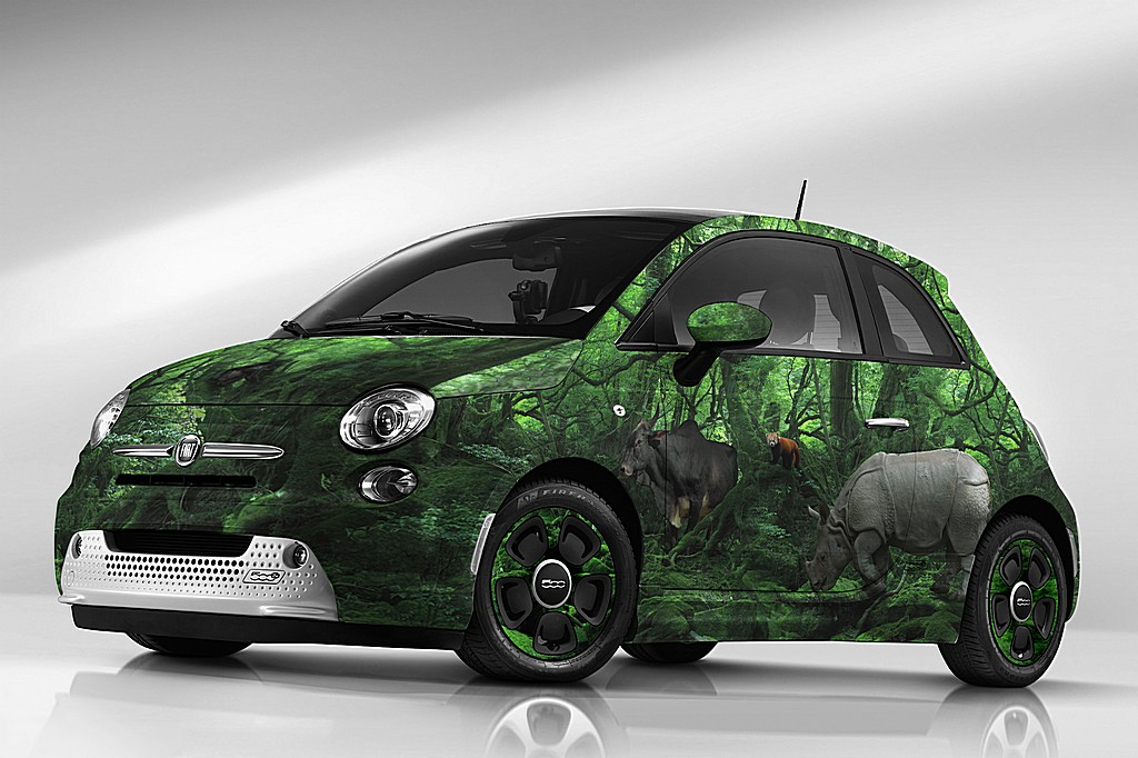 Fiat 500e Wild Garage Italia Customs