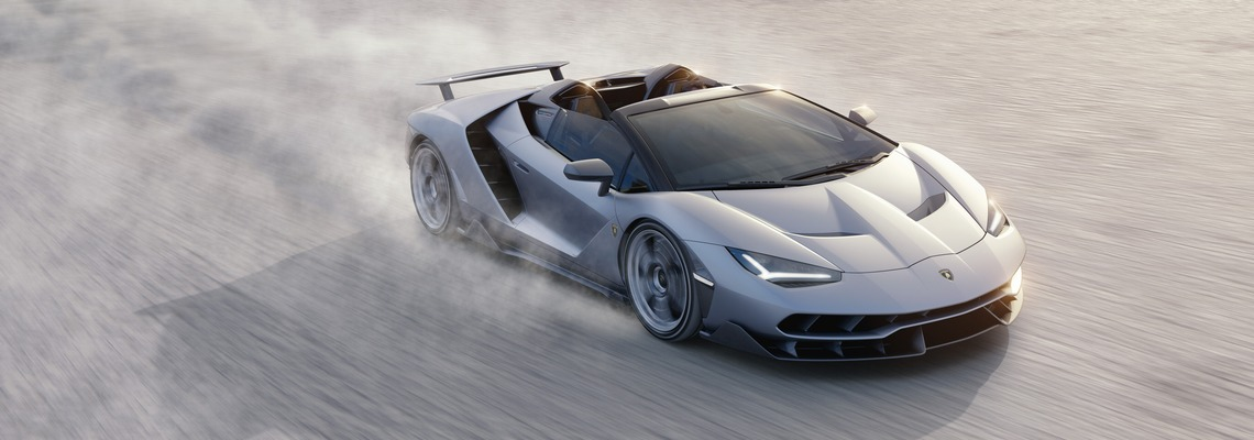 Lamborghini Centenario Roadster Dinamica