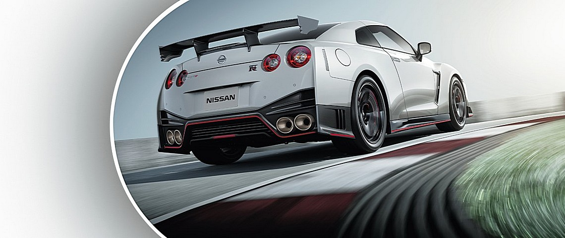 Nissan GT-R Nismo MY17 Tre Quarti Posteriore