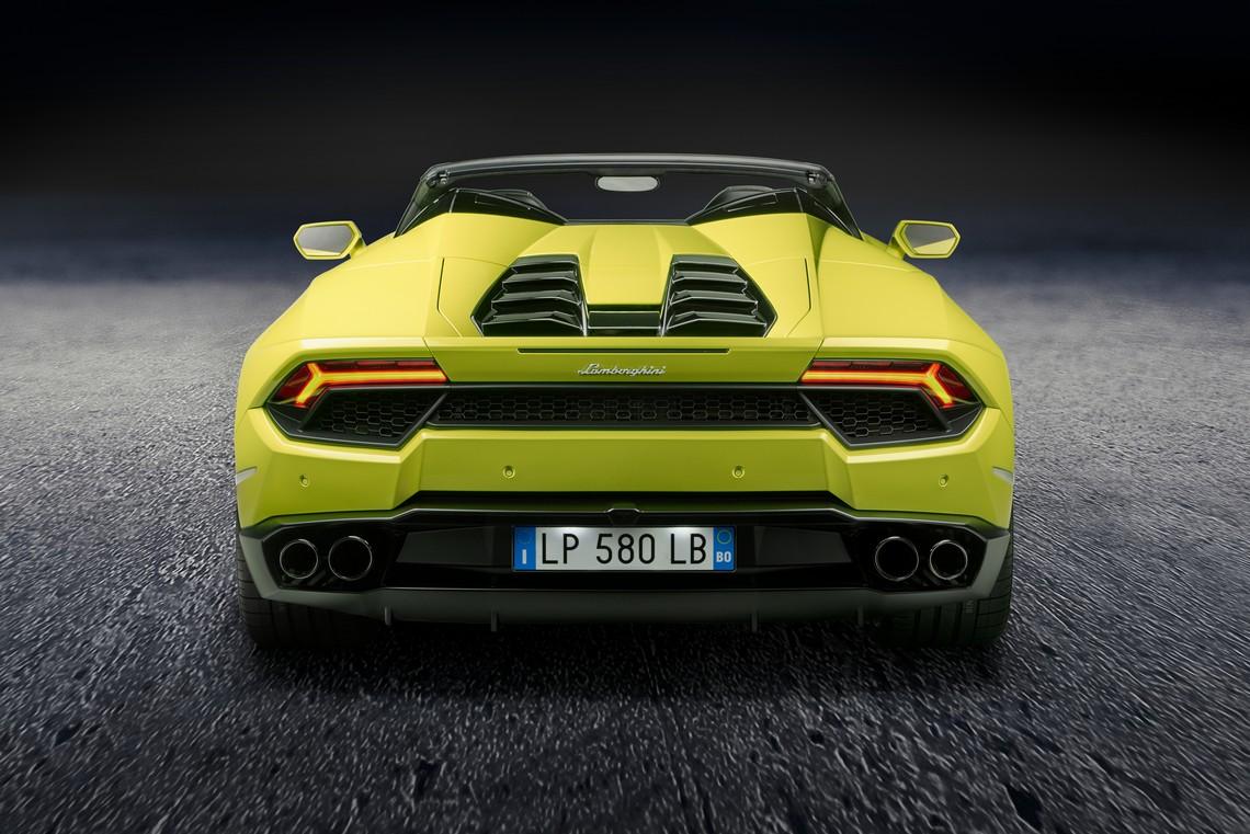 Lamborghini Huracan RWD Spyder 6