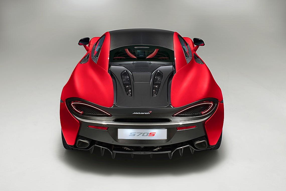 McLaren 570S Design Edition Dietro
