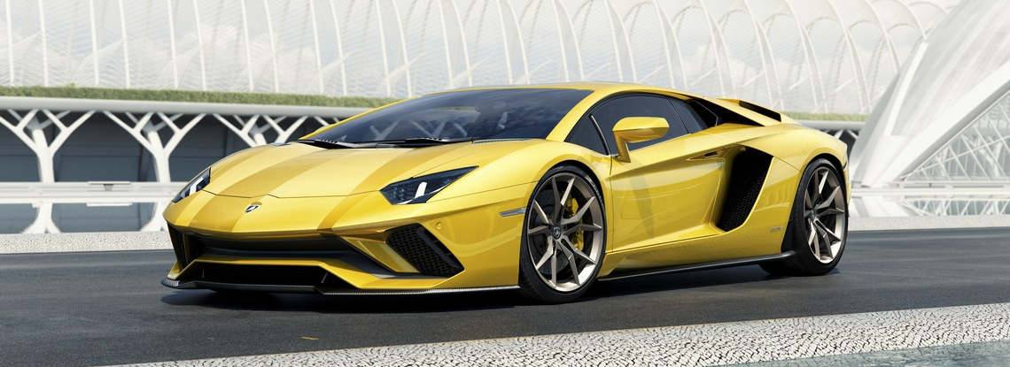 Lamborghini Aventador S Tre Quarti