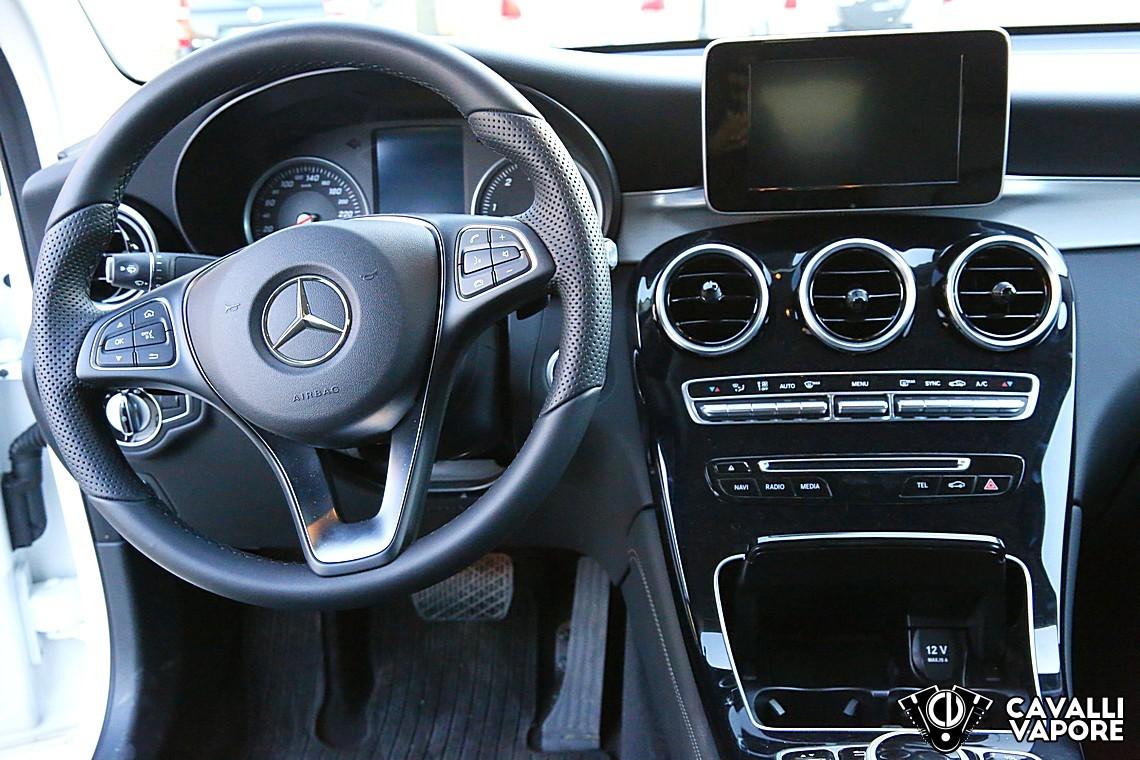 Mercedes GLC Coupe Prova su strada
