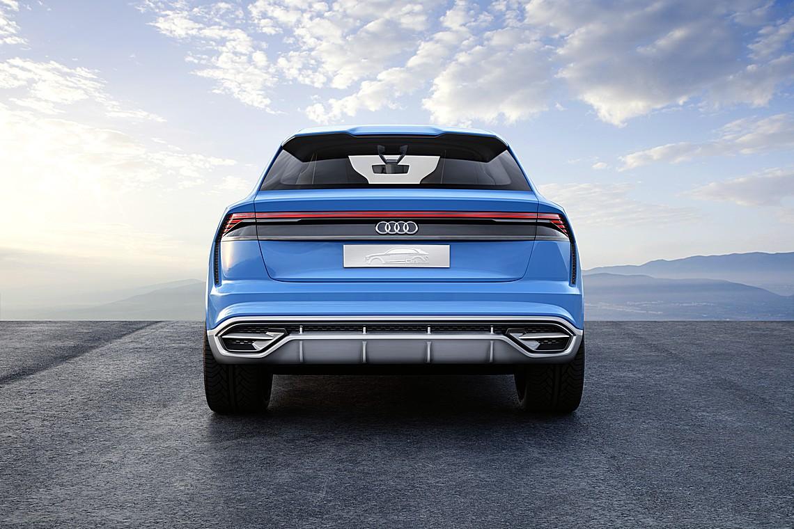 Audi Q8 Concept Dietro
