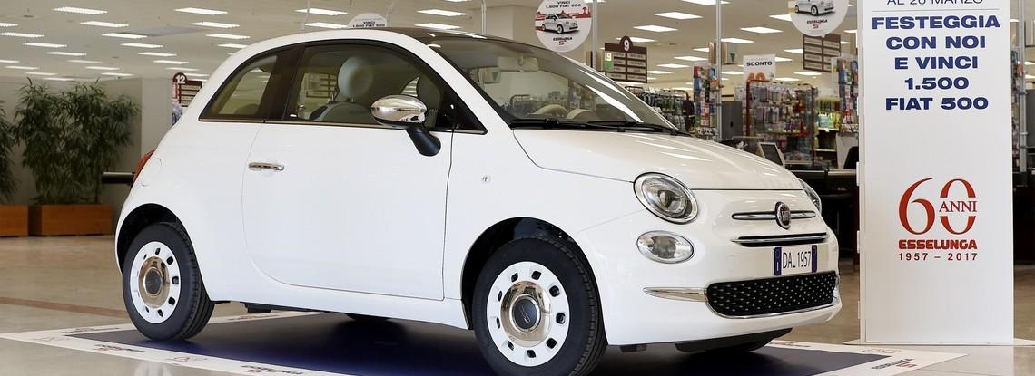 Fiat 500 Lounge Esselunga