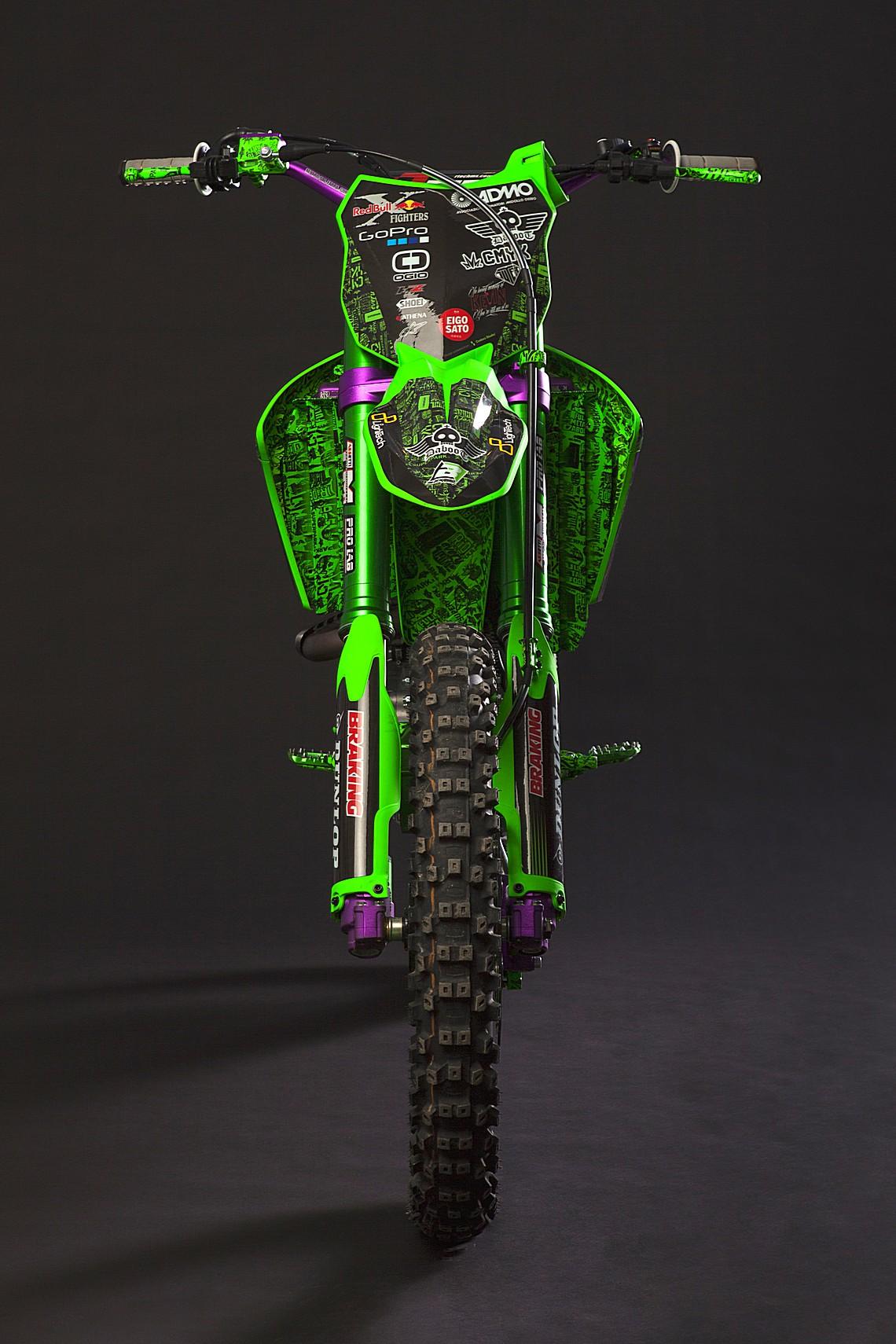 Kawasaki KX450 by Alvaro Dal Farra 3