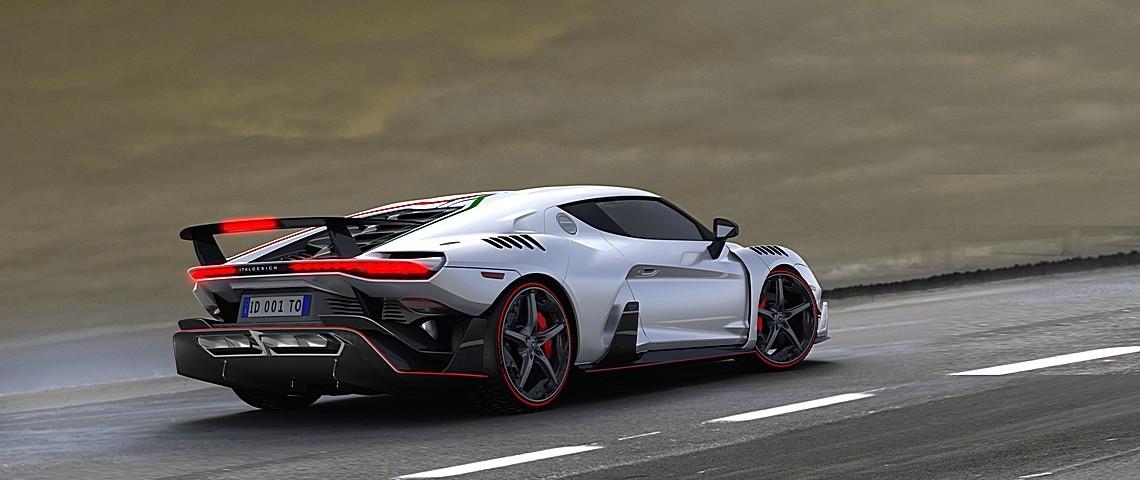 Italdesign Automobile Speciale Tre Quarti Posteriore