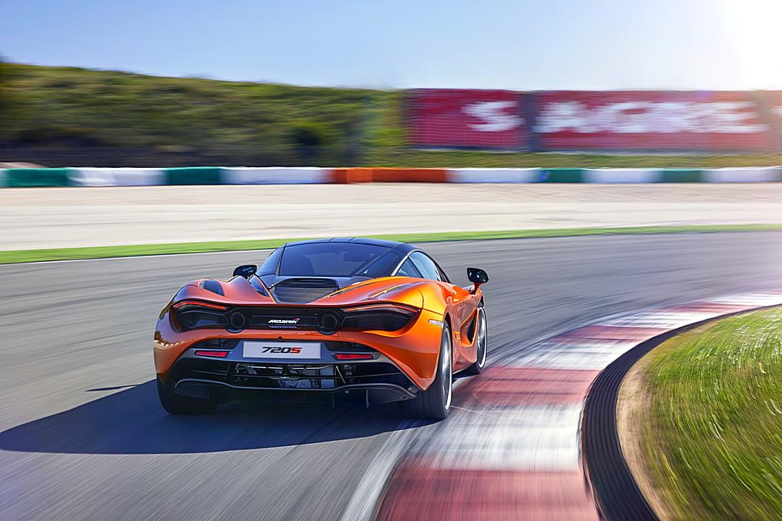 McLaren 720S Dinamica