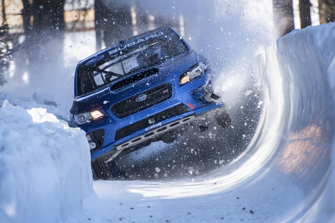 Subaru WRX STI pista da Bob Davanti