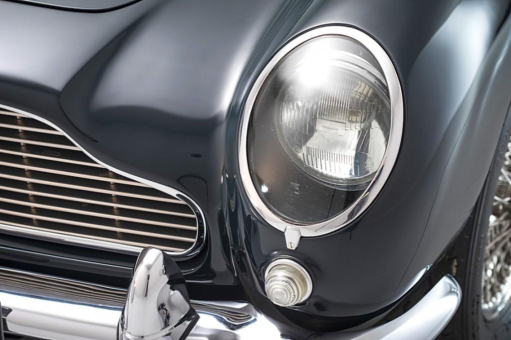 Un Aston Martin DB5 propiedad del príncipe Sadruddin Aga