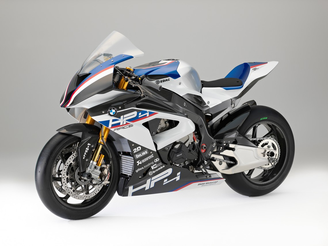 Bmw Hp4 Race Supersportiva In Limited Edition Cavalli