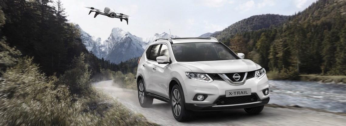 Nissan X-Trail Scape Drone Davanti
