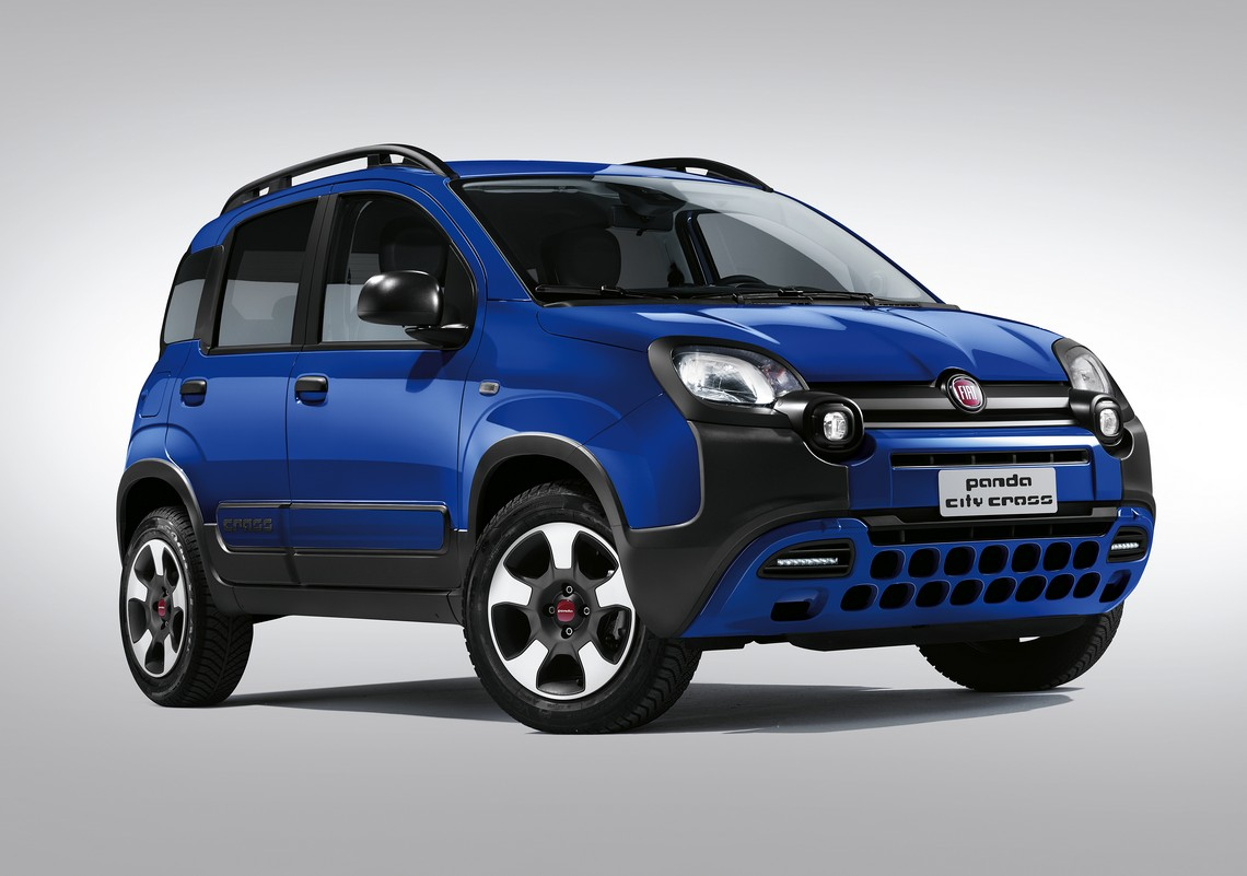 Fiat Panda nuova City Cross Blu