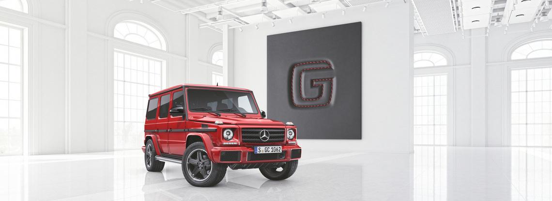 Mercedes Classe G designo manufaktur Edition Tre Quarti