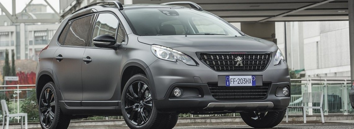 Peugeot SUV 2008 Black Matt