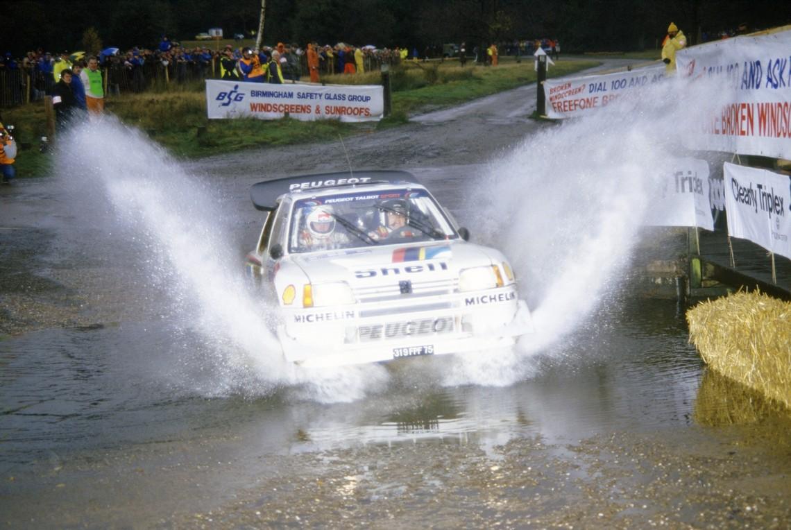 Timo Salonen Peugeot 205 T16E2 1986 Rally GB