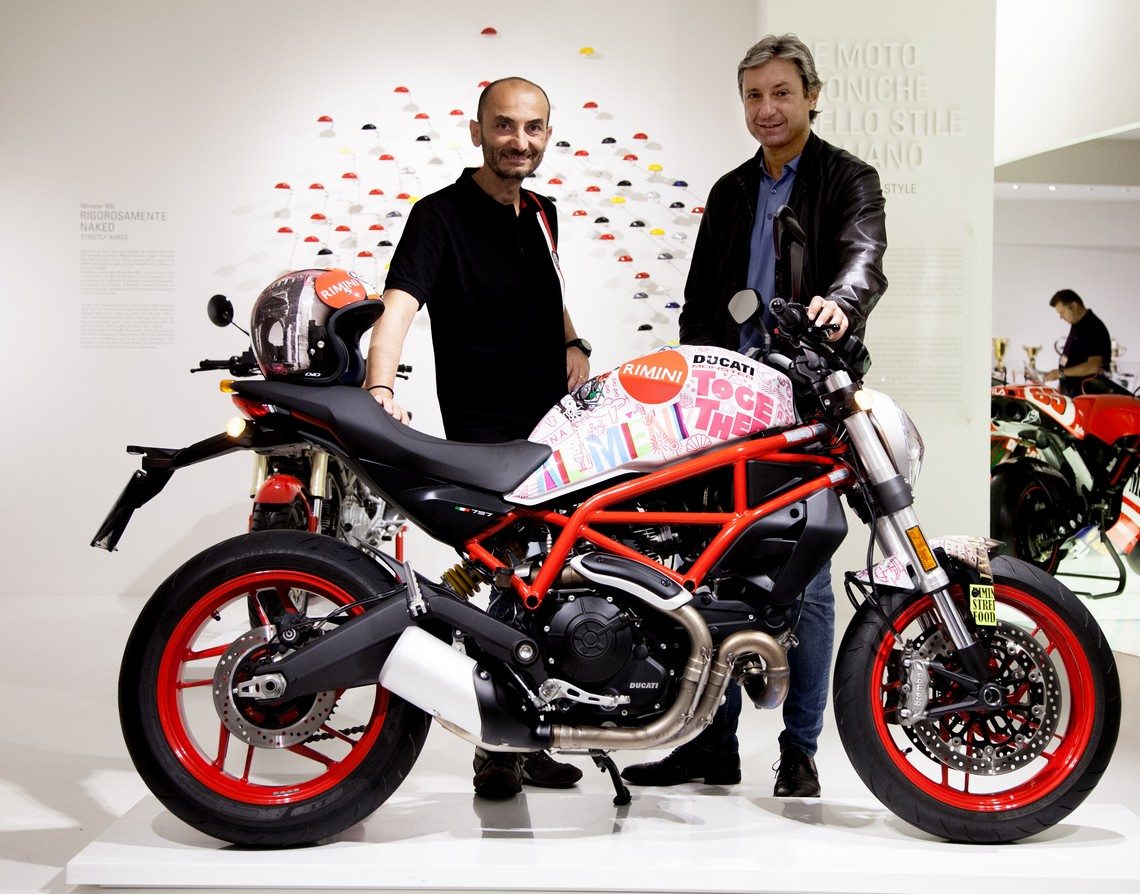 Ducati Monster per Rimini