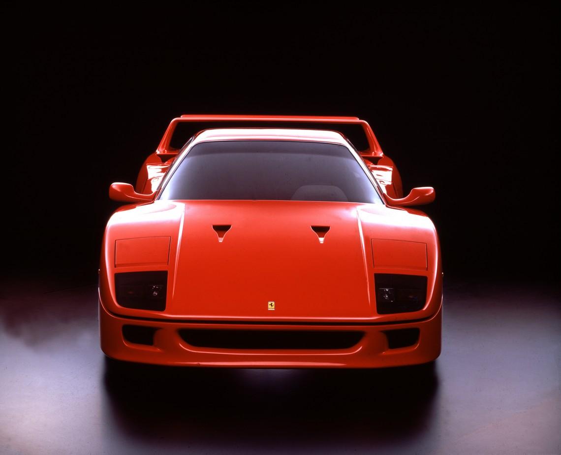 Ferrari F40 Davanti