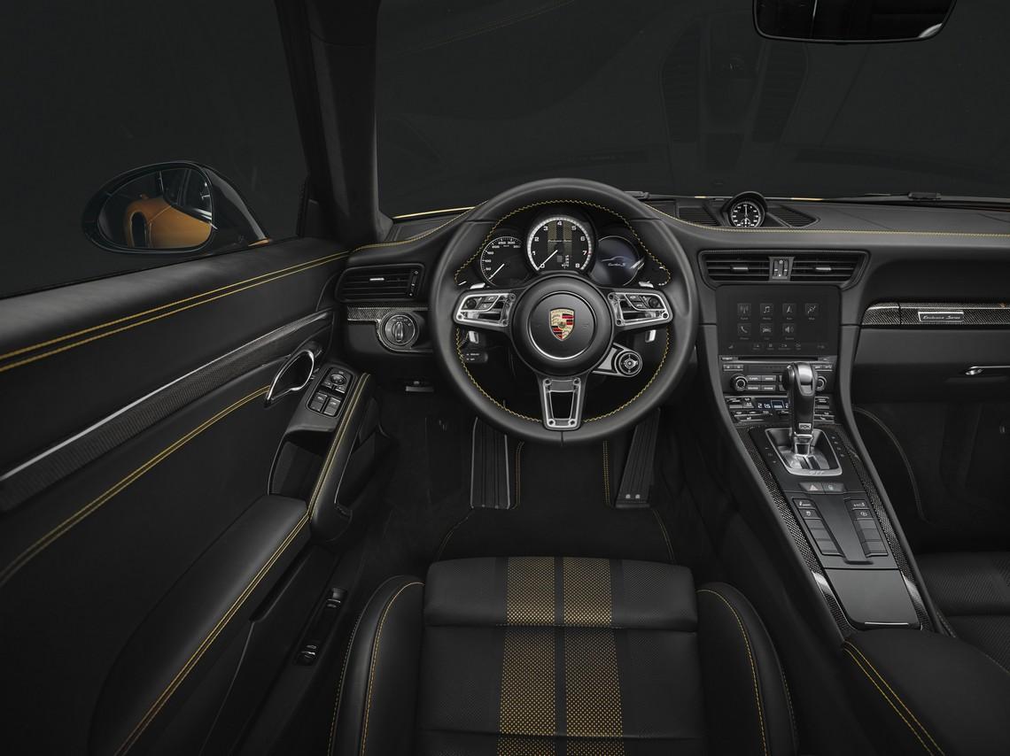 911 Turbo S Exclusive Series Interni
