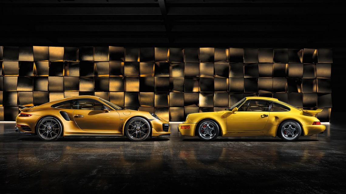 911 Turbo S Exclusive Series Storia