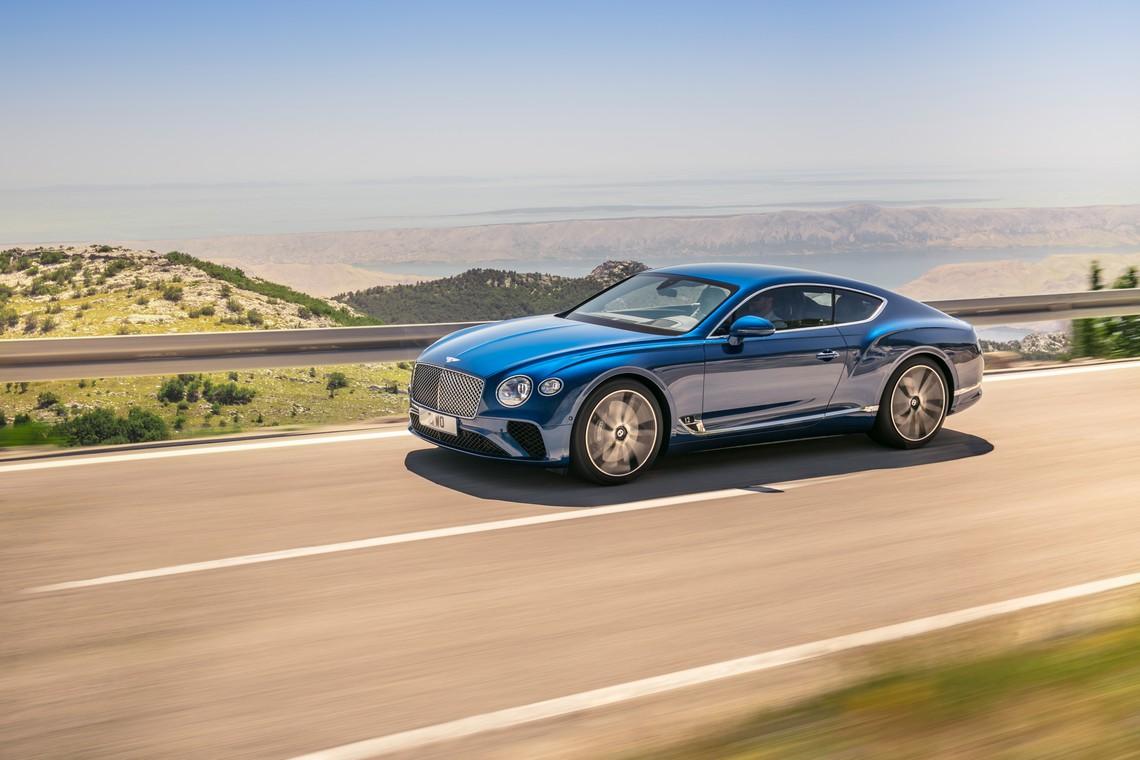 Bentley Continental GT Dinamica