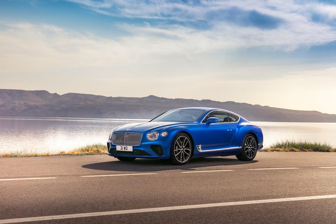 Bentley Continental GT Lato