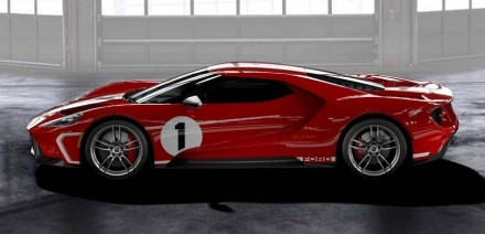 Ford GT 67 Heritage edition lato