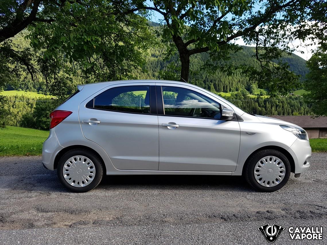 Ford KA+ Prova su strada Lato