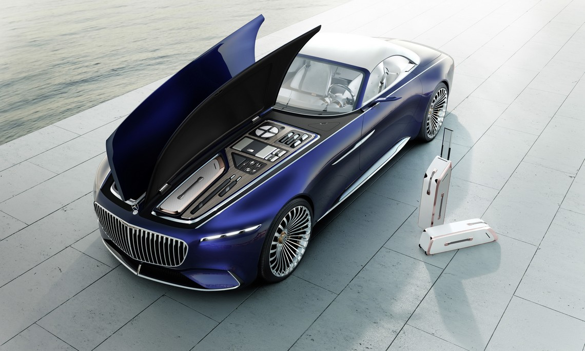 Maybach 6 Cabriolet Set da viaggio