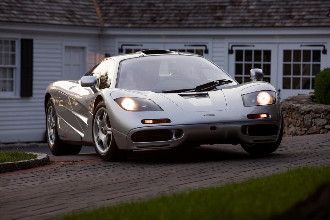 McLaren F1 Davanti