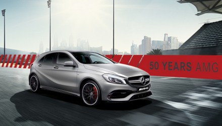 Mercedes-AMG A 45 4MATIC Edition 50
