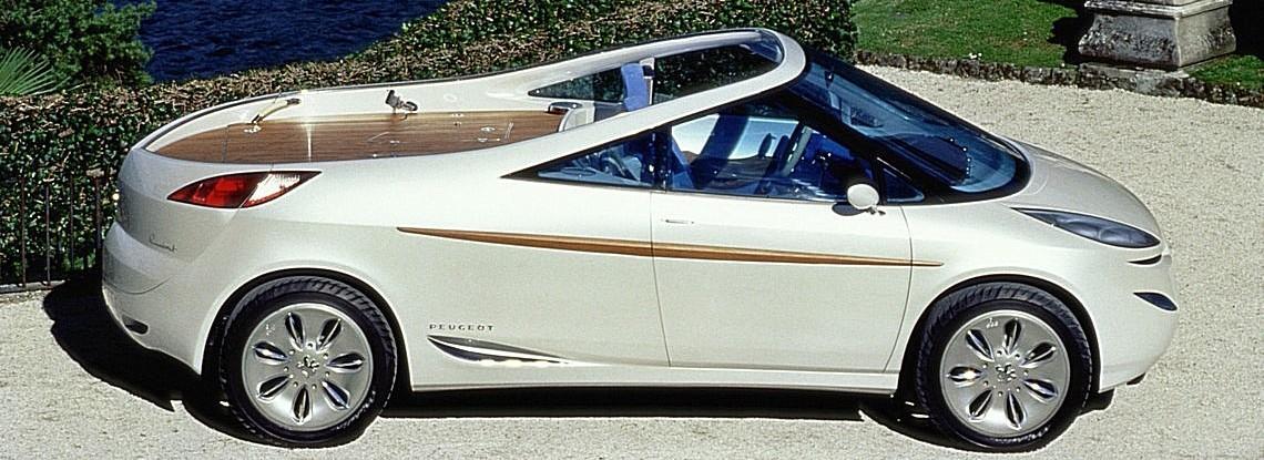 Peugeot 806 Runabout Lato