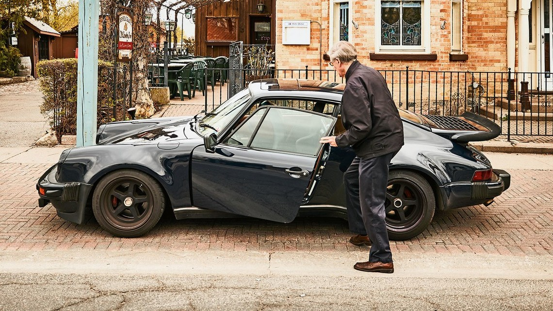 Porsche 911 Turbo 1975 Bill MacEachern