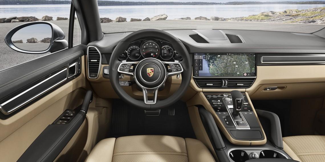 Porsche Cayenne Interni