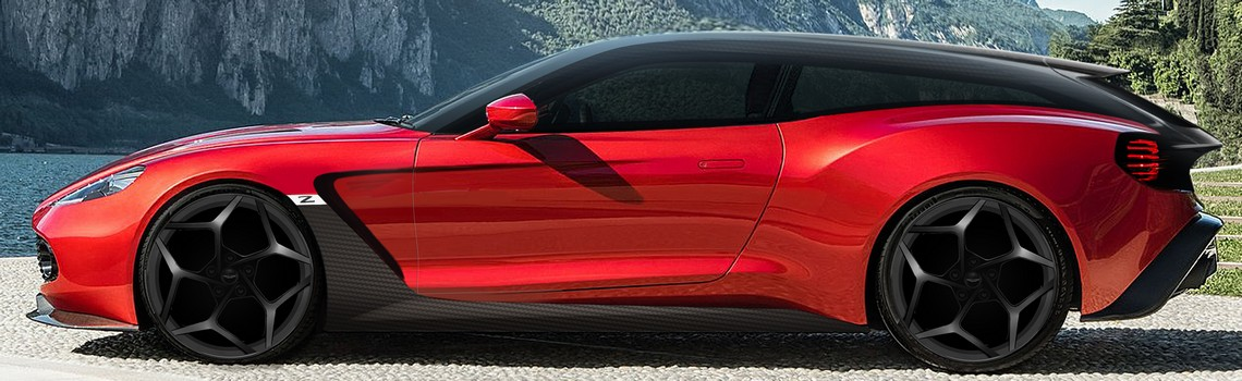 Aston Matin Zagato Shooting Brake