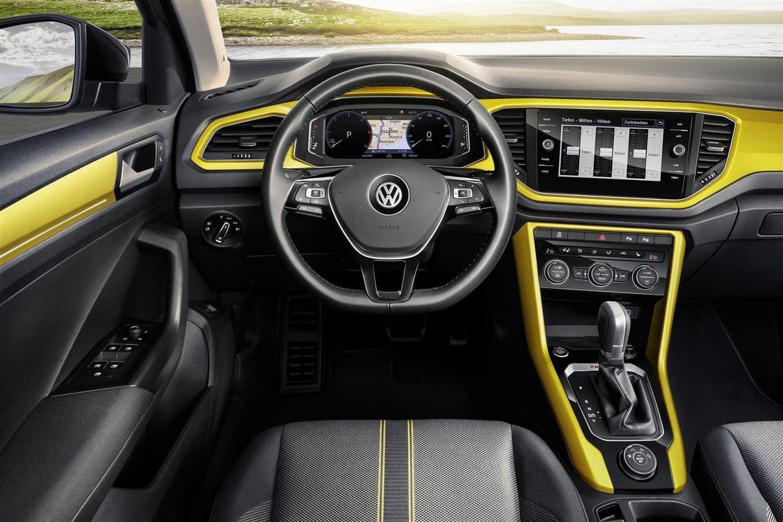 T-Roc Crossover Cockpit