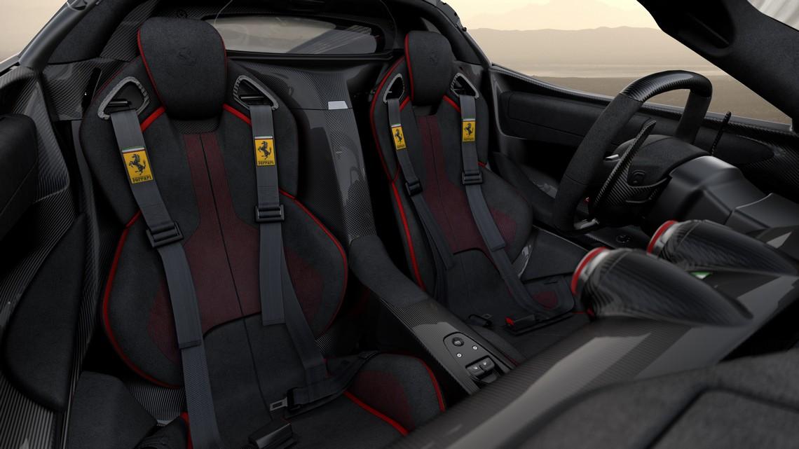 Ferrari LaFerrari Aperta Save The Children Sedili