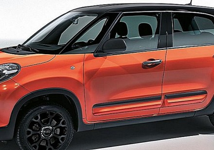Fiat 500L City Cross Tre Quarti