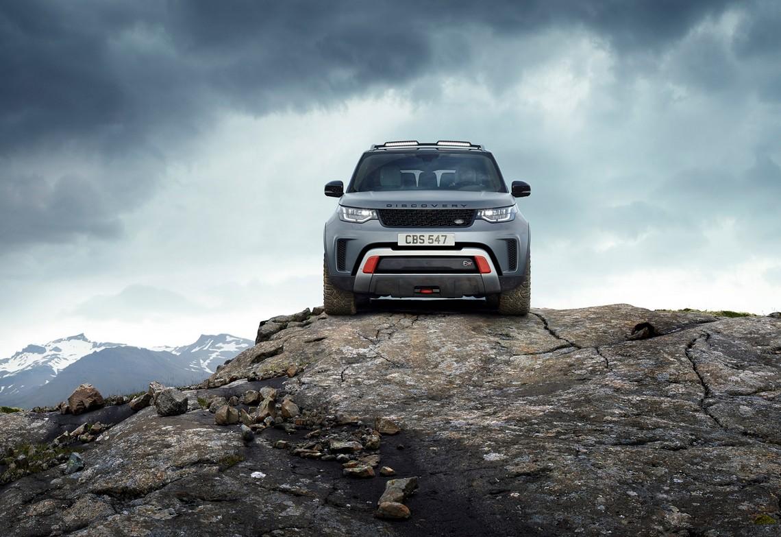 Land Rover Discovery SVX Davanti