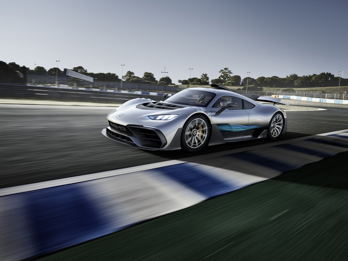 Mercedes AMG Project ONE Pista