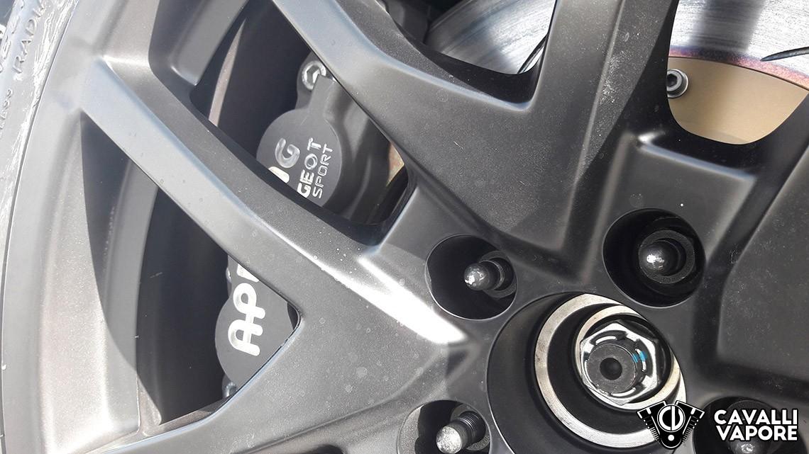Peugeot 308 Racing Test Drive Freni