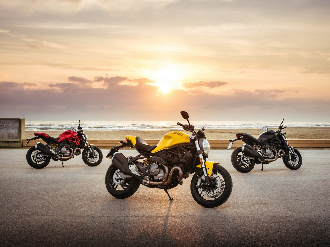 Ducati Monster 821 Gamma